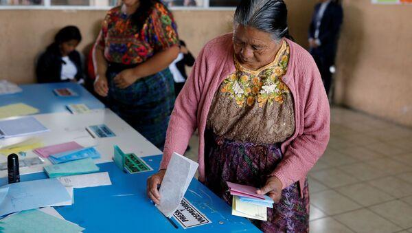 Elecciones en Guatemala - Sputnik Mundo