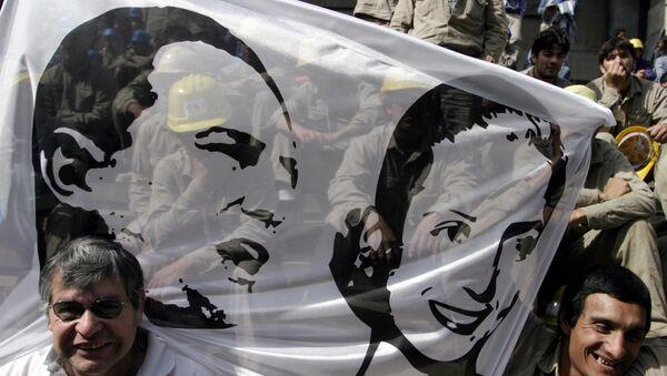 Manifestantes peronistas en 2006 - Sputnik Mundo