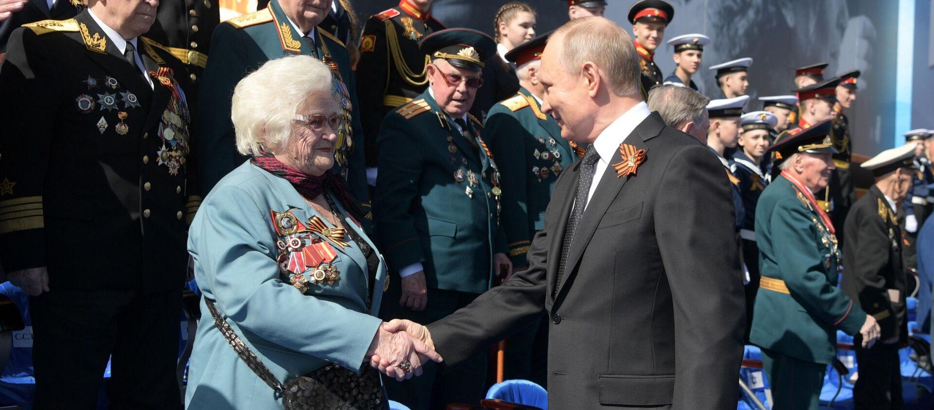 Galina Brok-Beltsova, exnavegante aérea y veterana de la Gran Guerra Patria - Sputnik Mundo, 1920, 22.06.2019