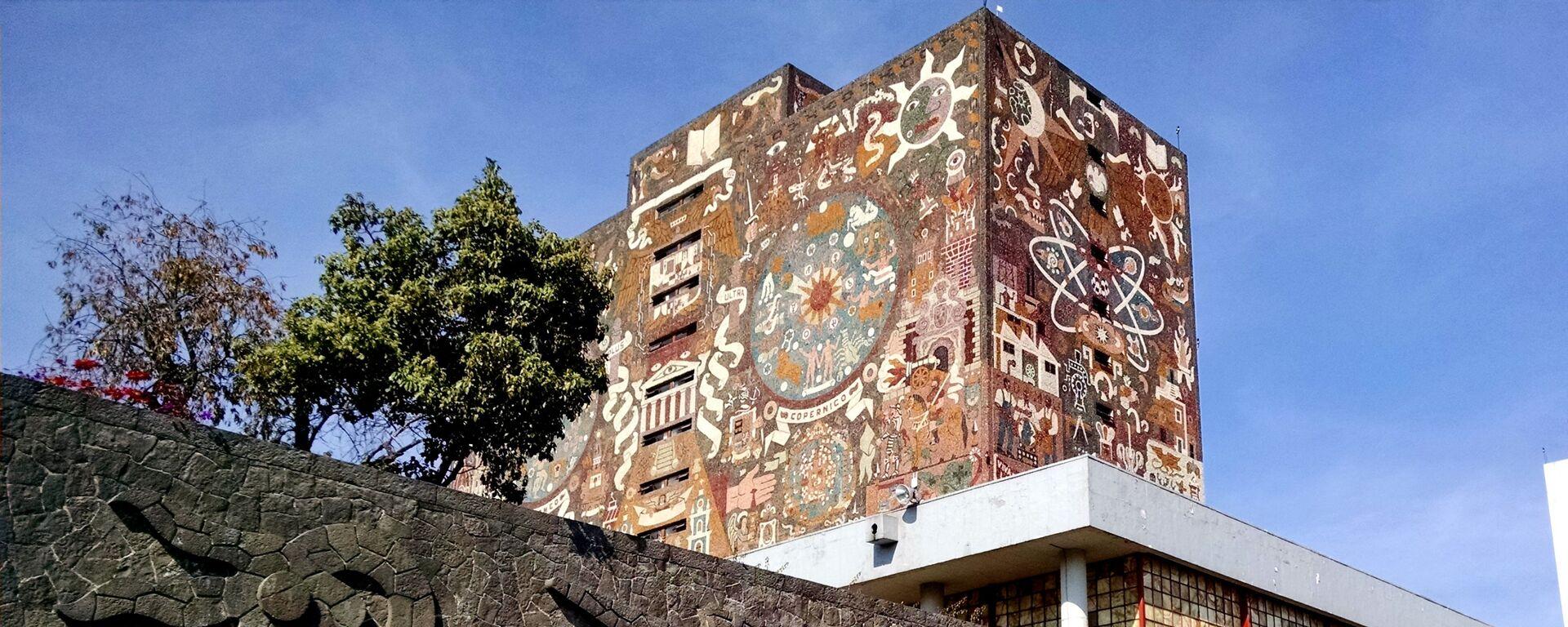 La Universidad Nacional Autónoma de México (UNAM) - Sputnik Mundo, 1920, 17.12.2020