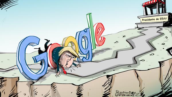 Trump tiene un rival que le impedirá ser reelecto y es… Google - Sputnik Mundo
