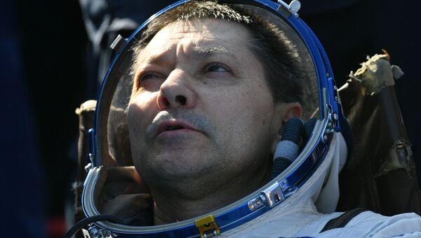 Oleg Kononenko, a su regreso de la EEI - Sputnik Mundo