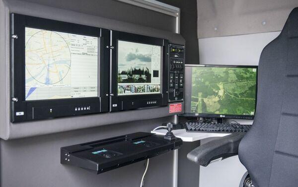 Sistema móvil Sapsan-Bekas para la detección y desactivación de vehículos aéreos no tripulados - Sputnik Mundo