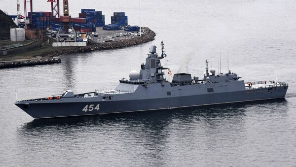 Fragata rusa Admiral Flota Sovetskogo Soyuza Gorshkov - Sputnik Mundo