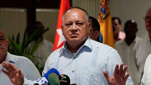 El presidente de la Asamblea Nacional Constituyente de Venezuela, Diosdado Cabello. - Sputnik Mundo