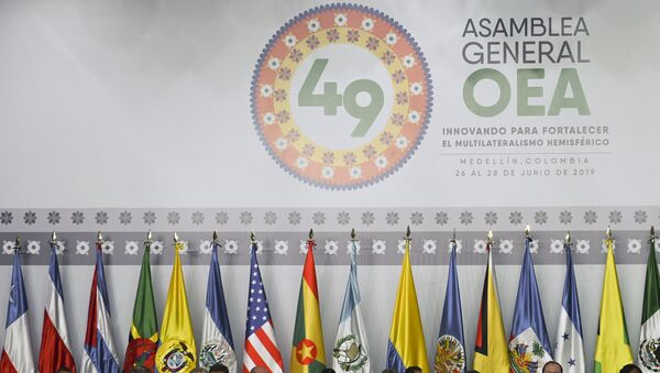 49 Asamblea General de la OEA - Sputnik Mundo