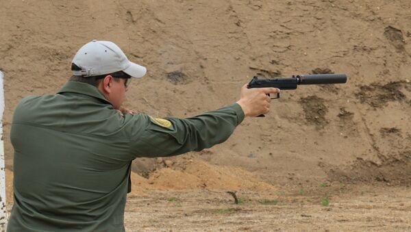 La pistola rusa Udav - Sputnik Mundo