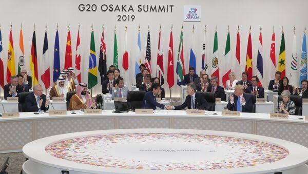 La cumbre del G20 en Osaka - Sputnik Mundo