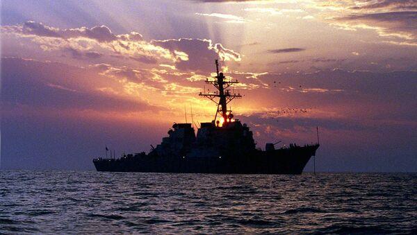 USS Carney de la Marina de Guerra de EEUU - Sputnik Mundo