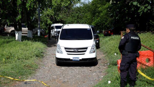 La caravana con los restos de Martínez y su bebé - Sputnik Mundo