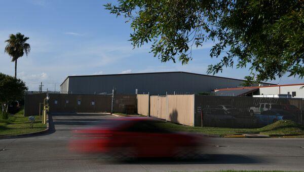El centro de procesamiento central de la ciudad de McAllen, Texas - Sputnik Mundo