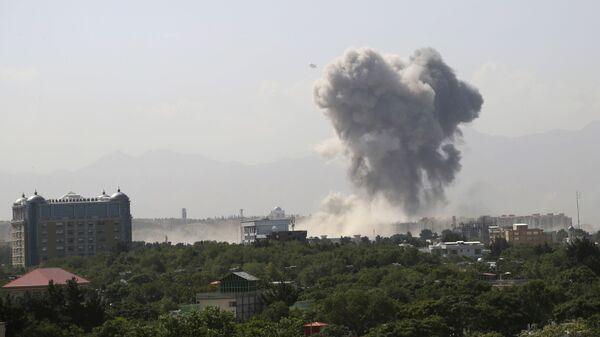 Explosión en Kabul, Afganistán - Sputnik Mundo
