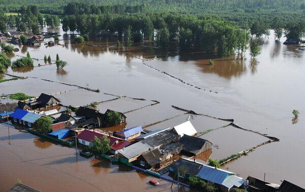 Inundaciones en Irkutsk, Siberia - Sputnik Mundo