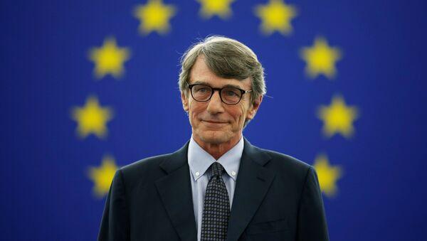 David Sassoli, nuevo presidente de la Eurocámara - Sputnik Mundo