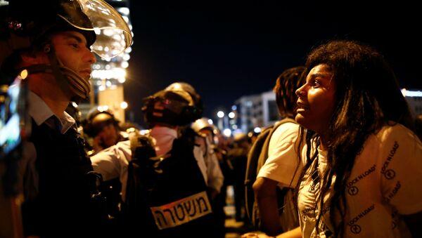 Protestas por la muerte de un joven etíope en Israel - Sputnik Mundo