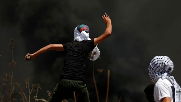 Enfrentamientos en la Franja de Gaza - Sputnik Mundo