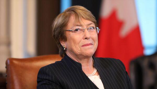 Michelle Bachelet, la Alta Comisionada de las Naciones Unidas para los Derechos Humanos - Sputnik Mundo