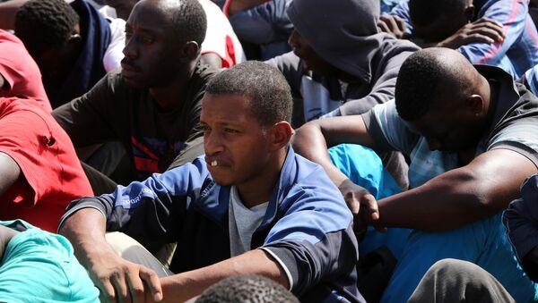 Migrantes de Senegal - Sputnik Mundo