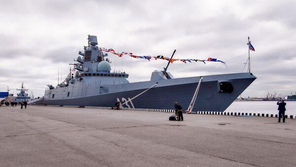 La fragata Almirante Kasatonov - Sputnik Mundo