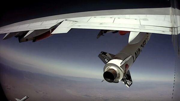 Lanzamiento del cohete LauncherOne de Virgin Orbit - Sputnik Mundo