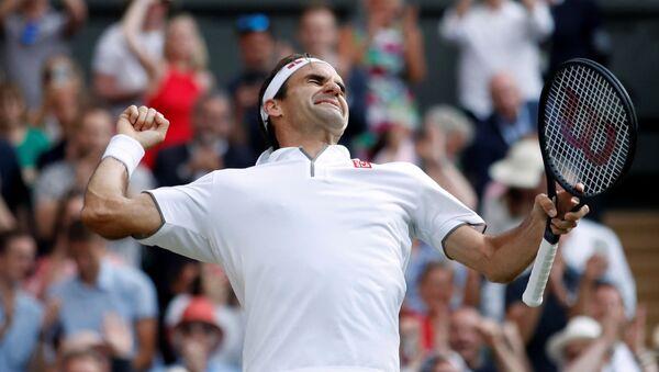 Roger Federer, el tenista suizo - Sputnik Mundo