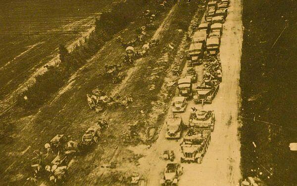 Retirada de las tropas alemanes de Vilna - Sputnik Mundo