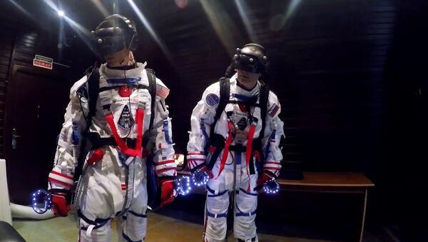 Los cosmonautas en la misión Sirius - Sputnik Mundo