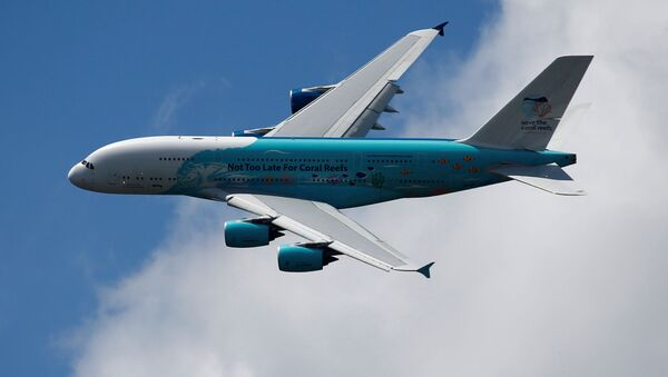 Un avión A380  - Sputnik Mundo