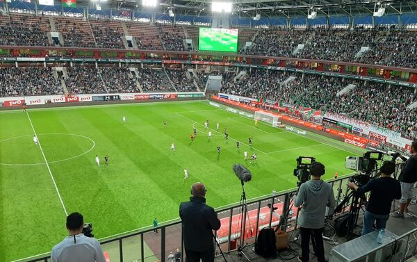 Fragmento del partido Lokomotiv-Rubín - Sputnik Mundo