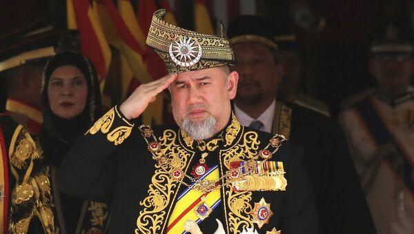 Mohamed V, exrey de Malasia - Sputnik Mundo