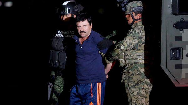 Joaquín el 'Chapo' Guzmán, jefe narcotraficante de México - Sputnik Mundo