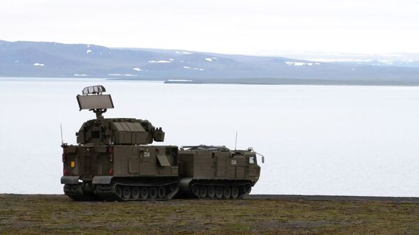 Зенитный ракетный комплекс Тор-М2ДТ на побережье архипелага Новая Земля - Sputnik Mundo