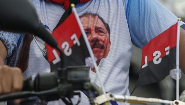 Celebración del 40 aniversario de la Revolución sandinista en Nicaragüa - Sputnik Mundo
