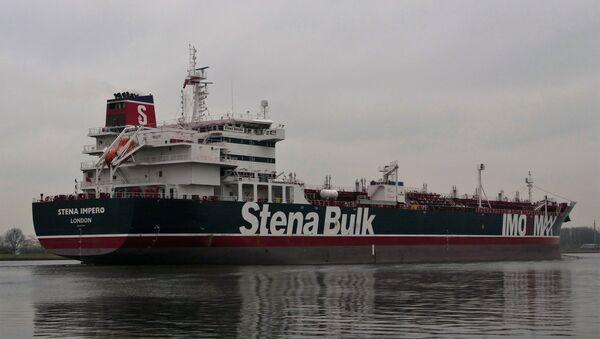 El buque británico Stena Impero  - Sputnik Mundo