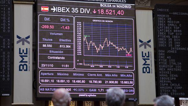 Bolsa de Madrid, Ibex-35 - Sputnik Mundo