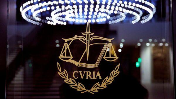 El Tribunal de Justicia de la Unión Europea - Sputnik Mundo