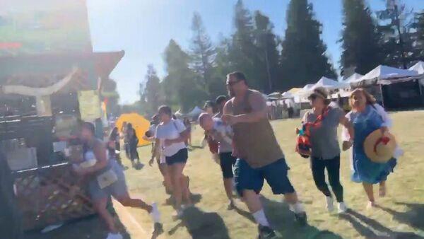 Disparos durante el Festival del Ajo de Gilroy - Sputnik Mundo