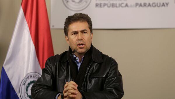 Luis Alberto Castiglioni, el canciller de Paraguay  - Sputnik Mundo