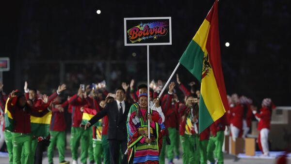 La delegación de Bolivia en los los XVIII Juegos Panamericanos 2019 - Sputnik Mundo