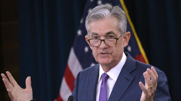 El gobernador de la Reserva Federal, Jerome Powell - Sputnik Mundo