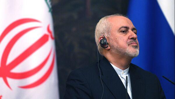 Mohamad Yavad Zarif, el canciller iraní - Sputnik Mundo