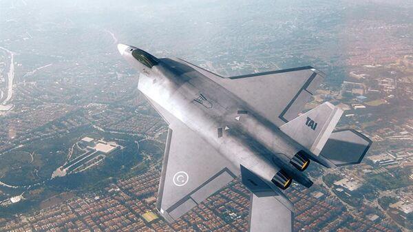 TAI TF-X, concepto de un caza turco de nueva generación - Sputnik Mundo