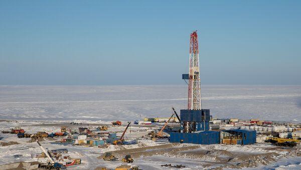 Extracción de petróleo en el Ártico - Sputnik Mundo