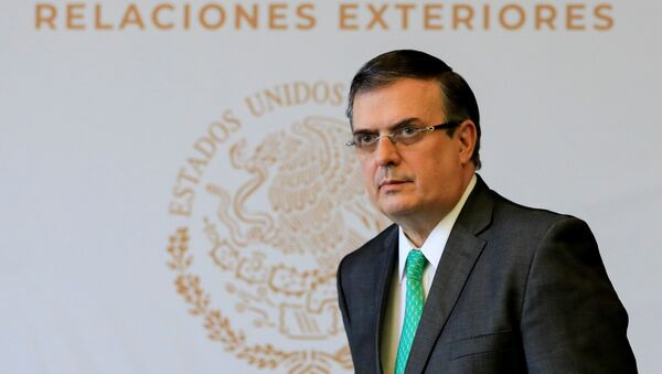 Marcelo Ebrard, canciller de México  - Sputnik Mundo