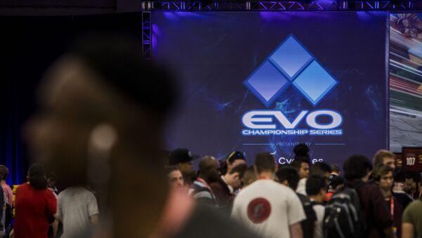 El evento de juegos de lucha EVO - Sputnik Mundo
