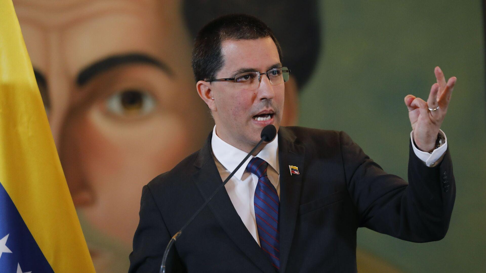 Jorge Arreaza, canciller de Venezuela - Sputnik Mundo, 1920, 10.03.2021