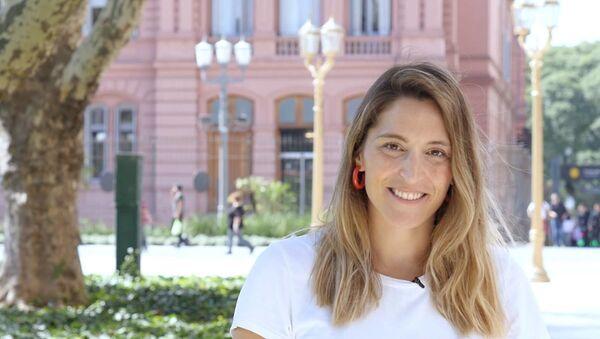 Manuela Castañeira es la única mujer candidata a la presidencia de Argentina - Sputnik Mundo