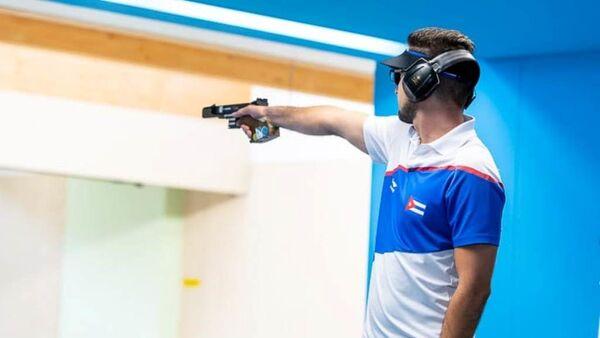 Jorge Félix Álvarez, campeón panamericano de tiro rápido en Lima 2019 - Sputnik Mundo