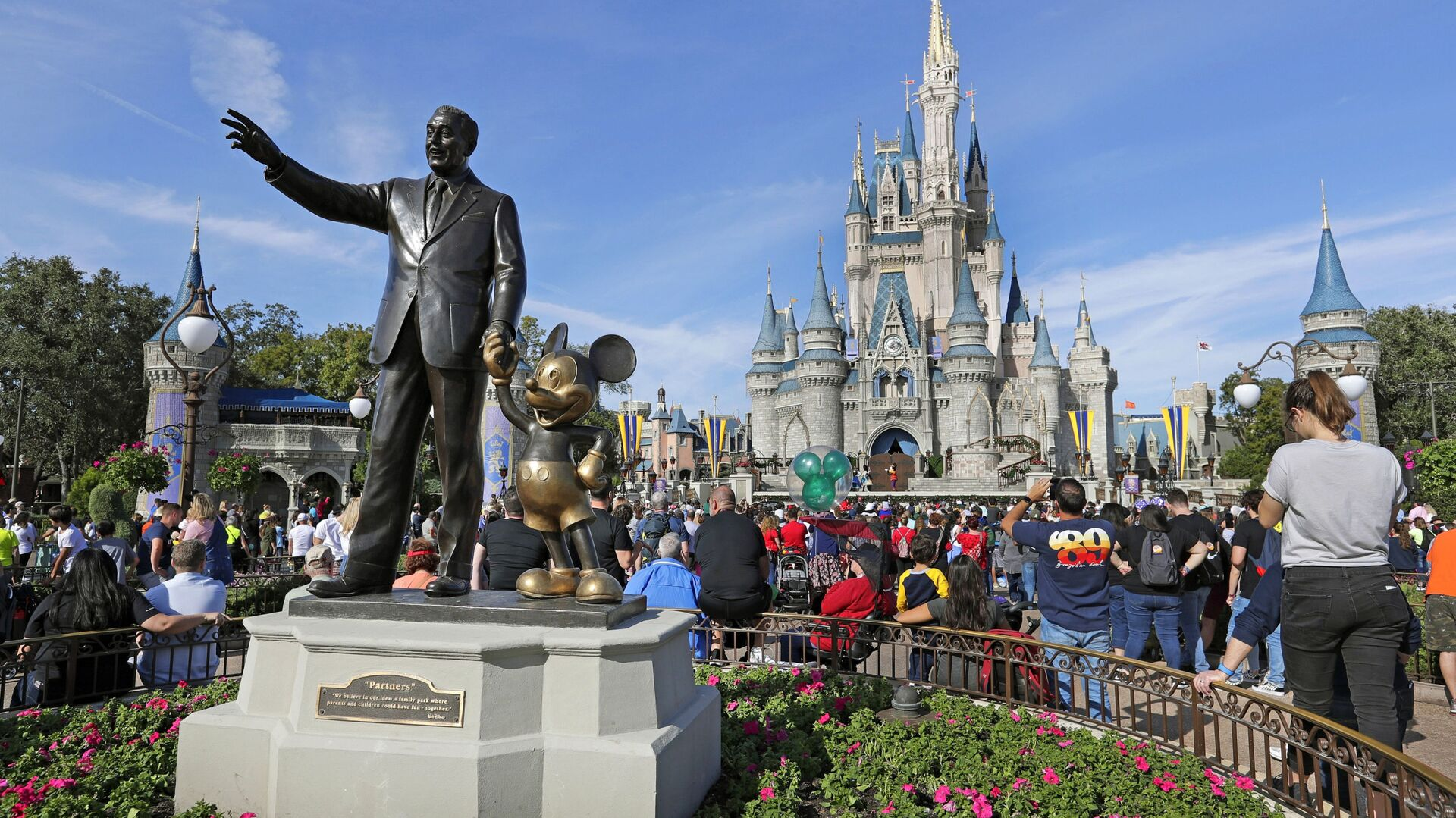 El parque de Disney en Orlando, EEUU - Sputnik Mundo, 1920, 02.03.2021