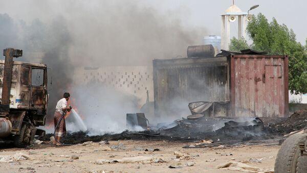 Situación en Adén, Yemen - Sputnik Mundo